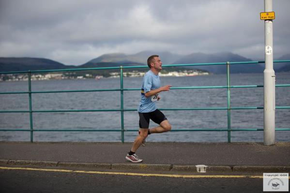 Paul leads on run