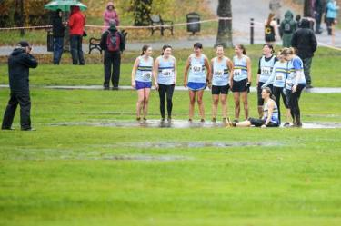 GGH Ladies at Bellahouston XC