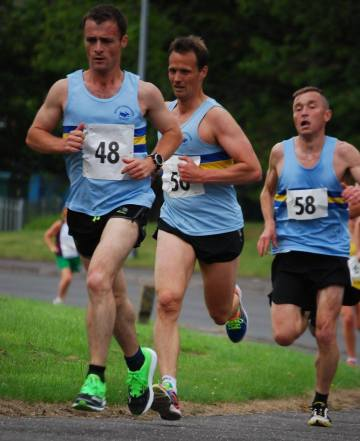Chris Mooney leads the GGH men