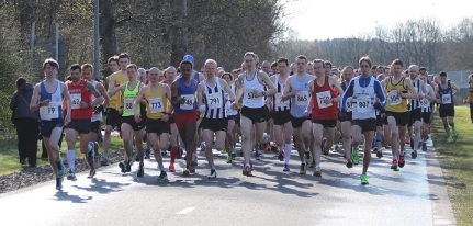 2015TomScott10mile.Start