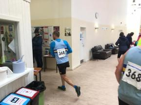 Andrew sets off on final leg