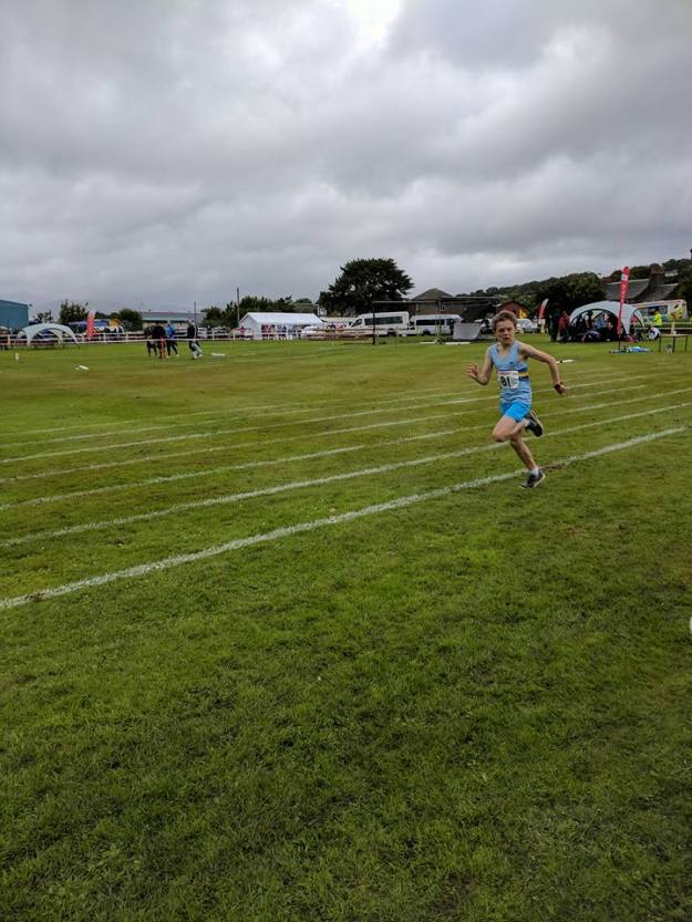 Harry at Bute Highland Games