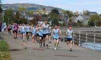 Senior 5 mile start