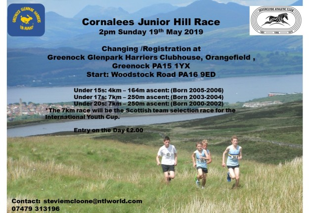 2019 Hill Race Poster